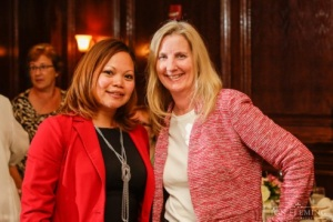 Donna Gilroy of Gilroy Photography with Michelle Marquez Special Events Director at 2941 Restaurant